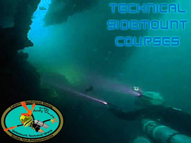 technical sidemount courses philippines