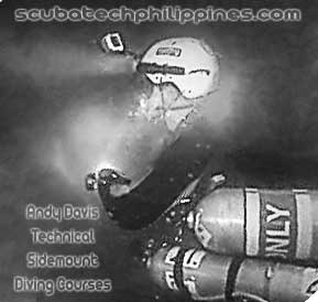 technical sidemount wreck diving course philippines