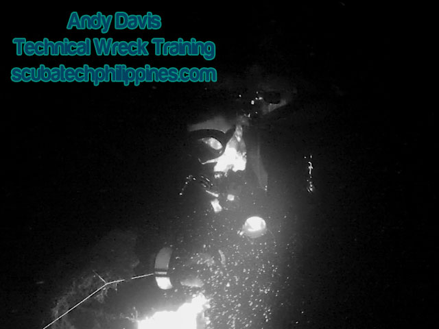 overhead environment protocols training wreck diving