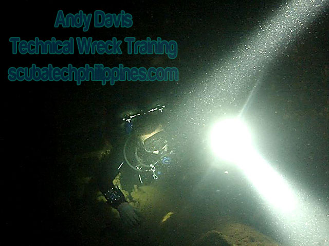 technical-wreck-diving course subic philippines