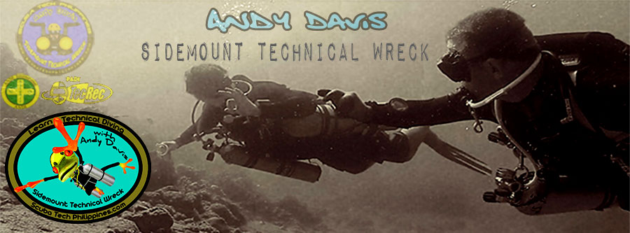 sidemount technical wreck courses philippines andy davis