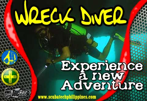 padi wreck diving course subic bay philippines
