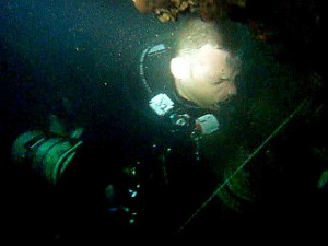 Andy-Tech-Sidemount-Wreck course