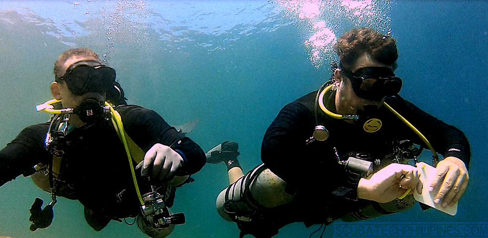 Sidemount technical diving courses Philippines
