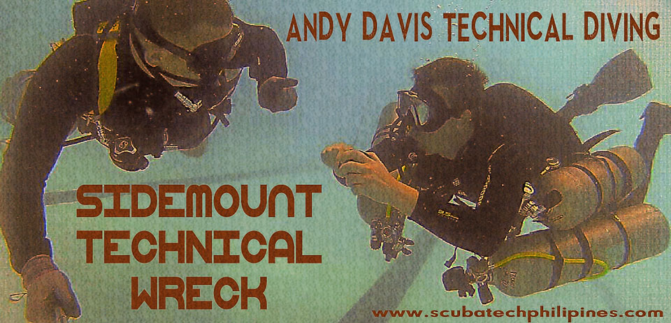 sidemount technical wreck diving philippines
