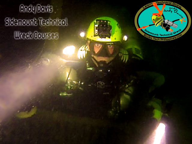 andy davis technical diving philippines