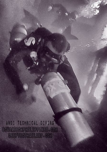 advanced sidemount wreck diving philippines