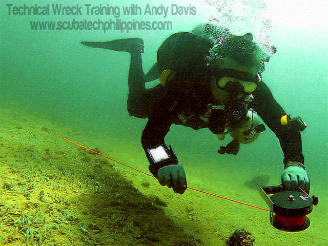 Advanced Wreck Diving Course Philippines Asia