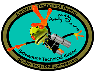 sidemount technical wreck diving course reviews philippines