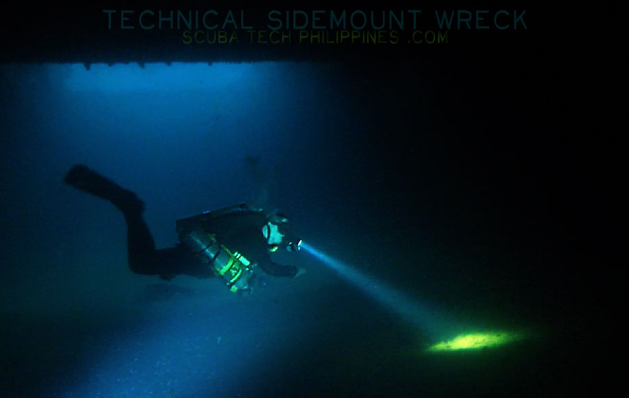 advanced wreck technical diving training course