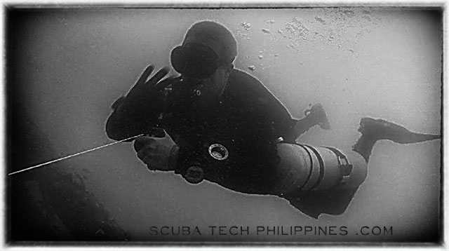 technical wreck advanced wreck diving course subic philippines