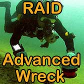 RAID Advanced Wreck Course Subic Bay Philippines