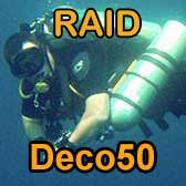 RAID DECO50 Technical Diving Course Philippines
